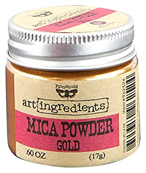 Prima Marketing Finnabair Art Ingredients Mica Powder, 0.6 oz, Green AIMP-62500
