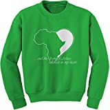 FerociTees Crew Drums Of Africa Quote Black History Pride Culture Adult X-Large Kelly Green