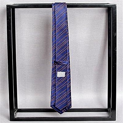 YYB-Tie Corbata Moda Parte Inferior Azul aristocrática del Lazo de ...