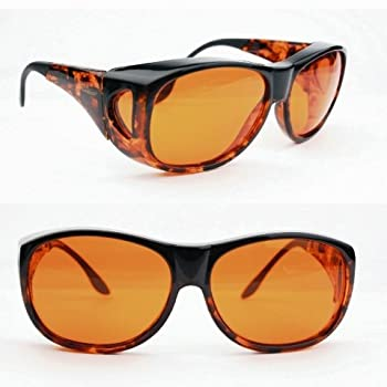 Eschenbach FitOver Sunglasses Large Orange Filter