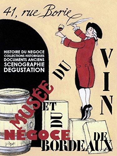 Advert Exhibition Venue Museum Wine Vino Blends Bordeaux France Poster Print (La Bordeaux Blend)