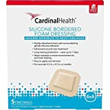 Cardinal Health Silicone Bordered Foam 6in x 6in