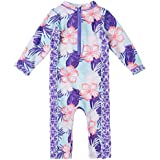 Baby Girl Swimsuit Long Sleeve Bathing Suit...
