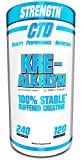 Pure Kre-Alkalyn Creatine Pills 240 Capsules, Best Selling Highly Rated Creatine Supplement