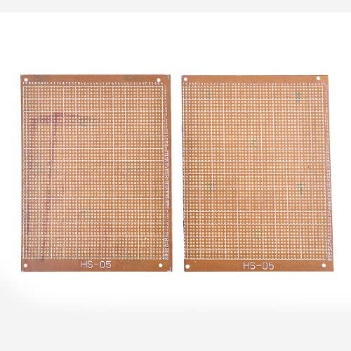 Aexit 2 unids Solderable Stripboard Universal Single Side (model: Z1404IV-6535AE) PCB Board 16x12.3cm: Amazon.es: Bricolaje y herramientas