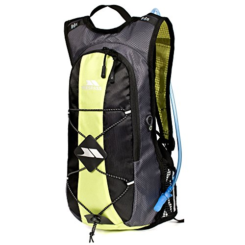 Trespass Mirror Hydration Backpack/Rucksack (15 Liters) With Water Resevoir (One Size) (Kiwi) (Trespass Pack)