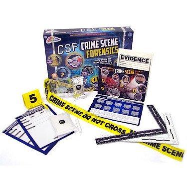 CSF Crime Scene Forensics Team Activity Kit Kit d/'Activit/é Police Scientifique en Anglais