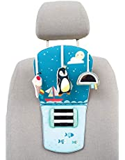 Taf Toys North Pole Feet Fun Infant Car Toy Travel Activity Center for Rear Facing Baby