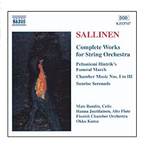 SALLINEN: Works for String Orchestra (Complete)