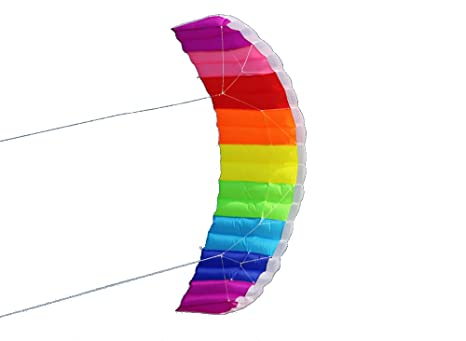 Free Shipping High Quality 10 Square Meters Quad Line Power Kite Surf Outdoor Fun Sports Para Foil Kite Board Stunt Kite To Be Distributed All Over The World Kites & Accessories