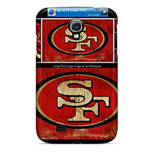 High Quality Phone Covers For Samsung Galaxy S4 With Allow Personal Design Stylish San Francisco 49ers Pattern MansourMurray