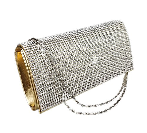 diamonds clutch black evening Aimira bag Silver Gold Glod bags glitter envelope ffHwq