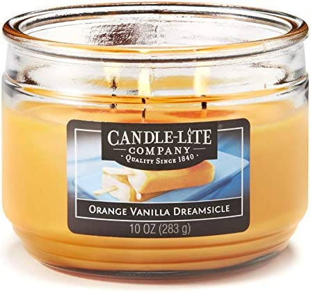 Candle Lite Everyday Scented Vanilla Dreamsicle product image