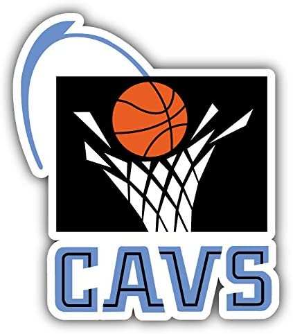 hotprint Cavaliers Basketball Cleveland Sport Logo Car Bumper Sticker Decal 4 X 5