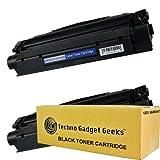 Techno Gadget Geeks 2 Pack X-25 8489A001AA Toner Cartridge Fits Canon ImageClass MF3110 MF3111 MF3240 MF5500 MF5530 MF5550 MF5630 MF5650 MF5730 MF5750 MF5770 LaserBase MF3220 MF3240 MF5630 MF5650 LaserShot LBP-3200 LBP-300LDA LBP-300LDF LBP-300N LBP-3200