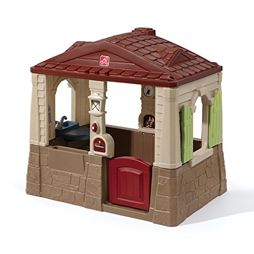 Outdoor Plastic Playhouses (Step2 Neat and Tidy II Playhouse)