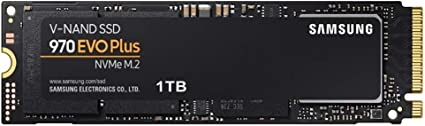 Samsung 970 EVO Plus 1 TB PCIe NVMe M.2 (2280) Internal Solid State Drive (SSD) (MZ-V7S1T0): Amazon.co.uk: Computers & Accessories