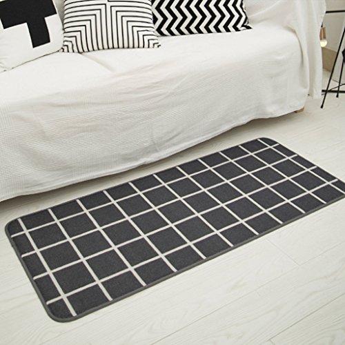 DGF Mattress living room bedroom bedside long slippery door mat carpet ( Size : 80cm50cm ) by Great St.