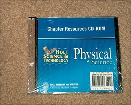 Amazon holt science technology chapter resources cd rom holt science technology chapter resources cd rom physical science 1st edition fandeluxe Images