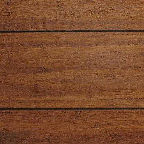 sed Dark Honey 1/2 in. x Multi Width x 72 in. Length Click Lock Bamboo Flooring (21.86 sq. ft./case) ()