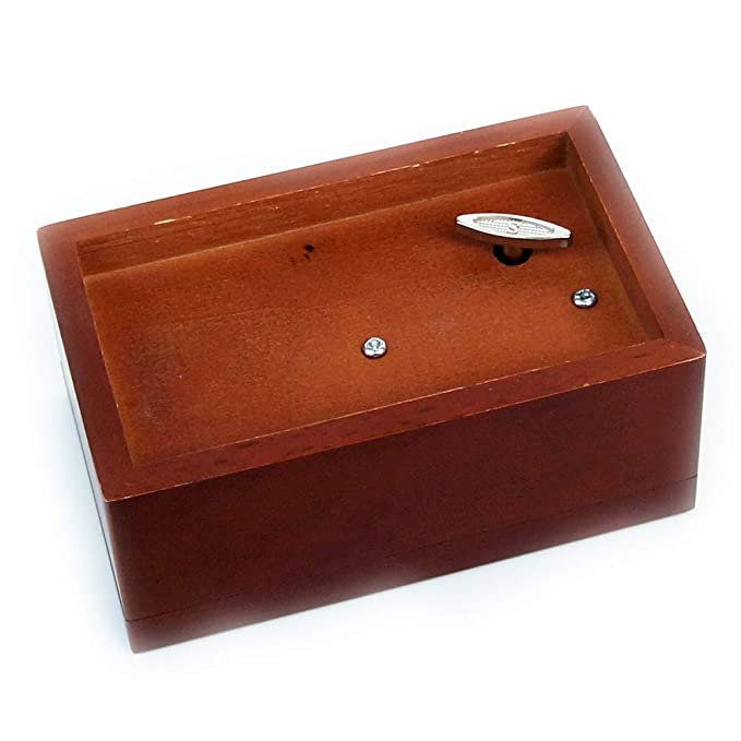 Joeliu Personalised Wooden Musical Box Custom Bridesmaid Wood Music Girlfriend Gift Mother Boyfriend Birthday Xmas