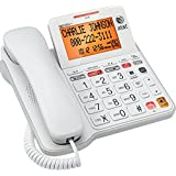 AT&T Big Button Phone with Tilt Display Large Print Caller ID and Answering System