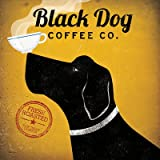 Black Dog Coffee Co Poster by Ryan Fowler (12.00 x 12.00)