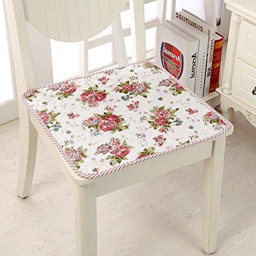 QTQZ Summer Office Chair Cushion,Seat Cushion Chair Pads Student Cushion Covers Adult Booster Seat-J 43x45cm(17x18inch)