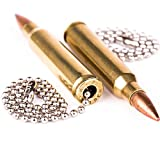 Real .223 Caliber Bullet Light Fan Pulls Chain Made in the USA - Set of 2
