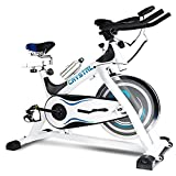 Cheap Crystal fit Indoor Cycling Bikes with LCD Monitor and Free Bottle Trainer Bicycle Stationary Fitness Equipment with 30lbs flywheel Exercise Bike