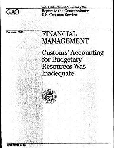 Financial Management: Customs' Accounting for Budgetary Resources Was Inadequate