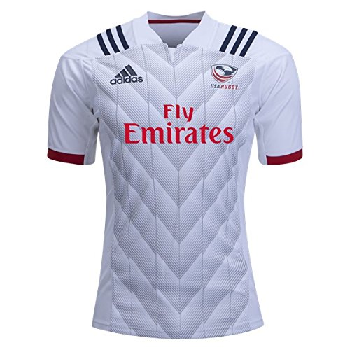 Home Rugby Jersey (adidas USA Rugby 2018 Home Jersey (Large))