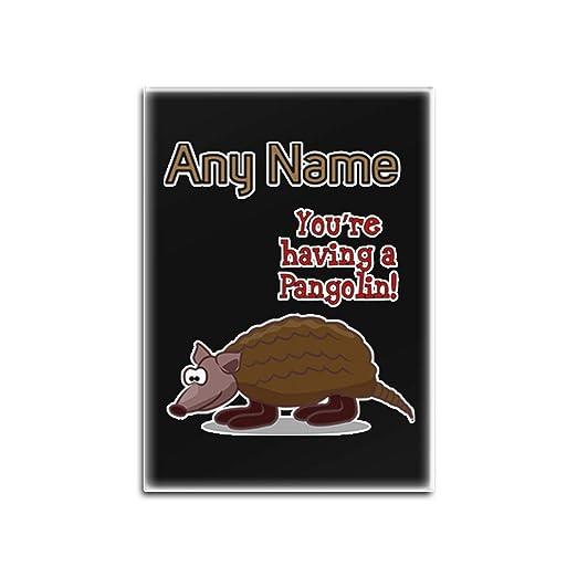 UNIGIFT Imán para Nevera con diseño de Lema de Animales, Color ...