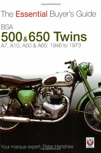 BSA 500 & 650 Twins: The Essential Buyer