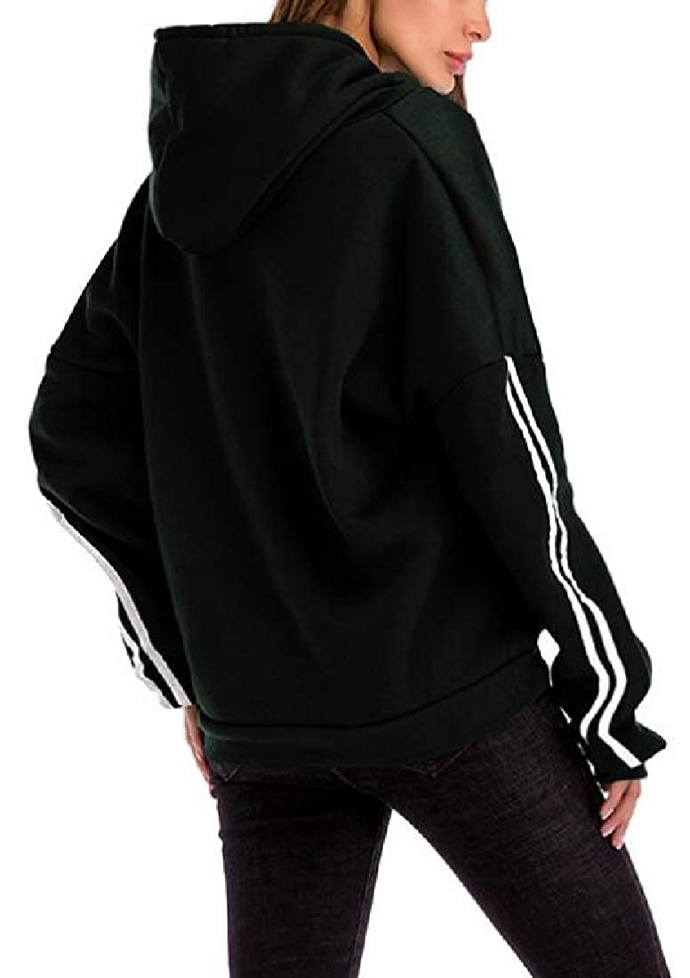 Fubotevic Womens Sweatshirt Casual Loose Pullover Hoodies Hooded Sweatshirt with Pockets