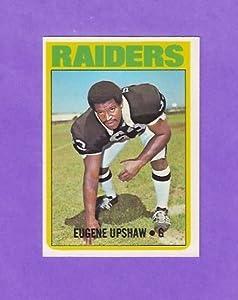 Gene Upshaw 1972 Topps Football Rookie Card (Oakland Raiders)