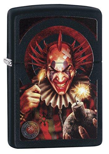 Zippo Anne Stokes Clown Pocket Lighter