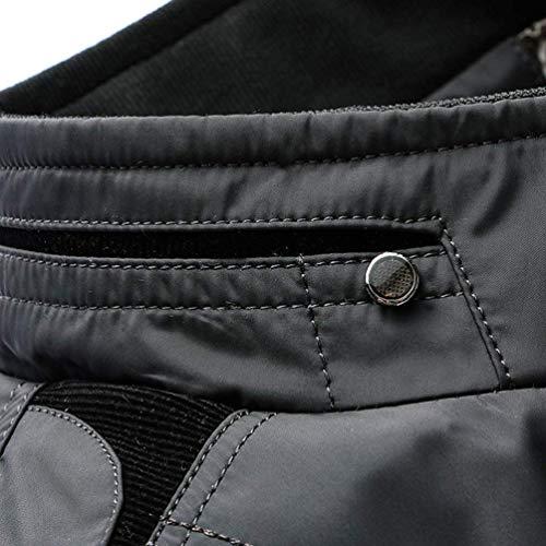 Classic Chaqueta Los Cuello De Trinchera Rompevientos Aire Prendas Hombres Libre Abrigo Otoño Larga Al De Chaqueta Exteriores Vestir Abrigo De Manga Abrigo Schwarz 8nWWgpxf