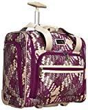 Nicole Miller Taylor Collection 15'' Under Seat Bag (Woven Purple)