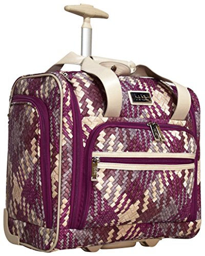 Woven Carry On - Nicole Miller Taylor Collection 15