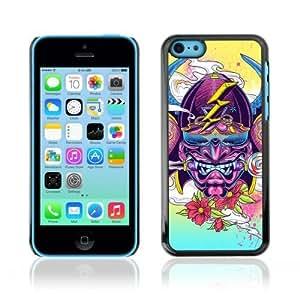 MMZ DIY PHONE CASEYOYOSHOP [Abstract Japanese Samurai Illustration] Apple iphone 4/4s Case