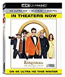 Kingsman: The Golden Circle (4K UHD + BD + Digital) [Blu-ray]