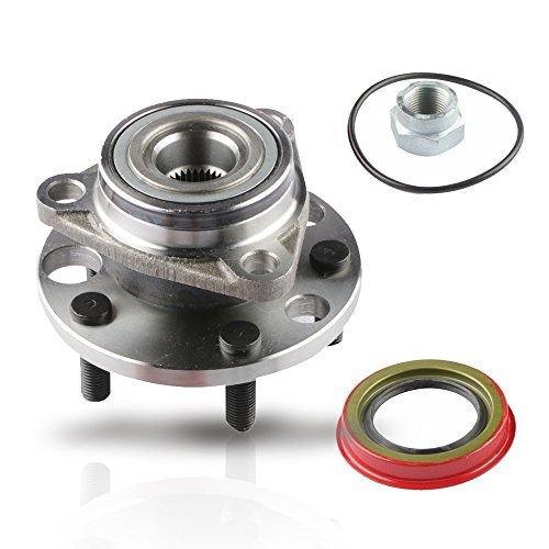MOSTPLUS Wheel Bearing Hub Front Wheel Hub and Bearing Assembly for Chevy Pontiac With ABS 5 Lug 513017k Driver or Passenger Side by MOSTPLUS