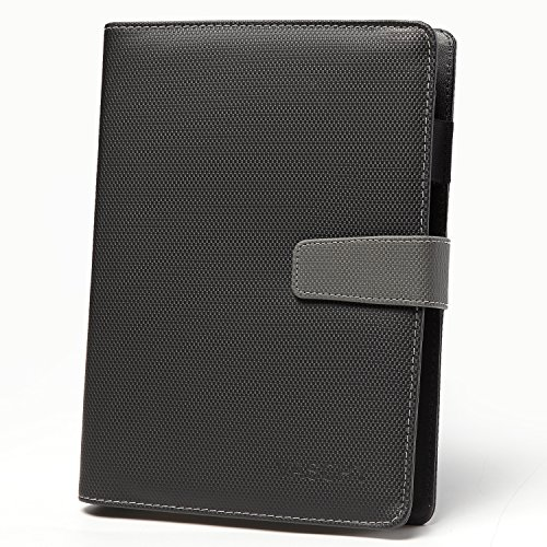 Business Journal,VASCHY Refillable A5 Hardcover Notebook Acid Free 100GSM 200 Ruled Pages Business Diary with Pen Loop Magnetic Clasp 3-Year Calendar ()