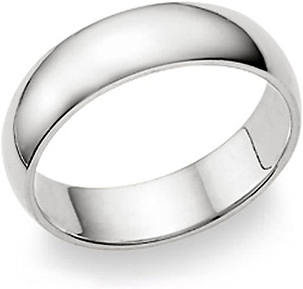 10.25 Hand Engraved Mens 935 Sterling Silver 6mm Wide Wedding Band Ring Comfort Fit No Tarnish