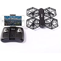 ECLEAR RC Mini Quadcopter Drone RTF 720P HD Camera WiFi FPV Nano Helicopter 2.4GHz 4CH 6 Axis Gyro DIY Aircraft Toys For Adult Kids Aerial Photography Racing