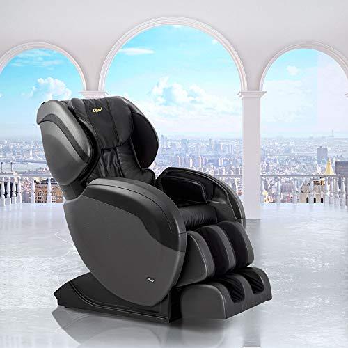 Osaki TW-Pro 3 Zero Gravity Massage Chair, L-Track Design, Foot Rollers, Space Saving Technology (Black)