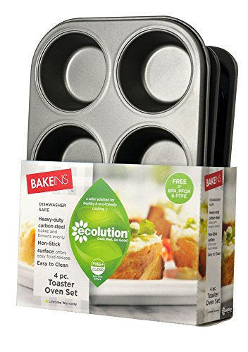Ecolution EIOGY-1204 toaster bakeware Gray by Ecolution (Image #1)