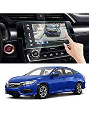 Moonlinks Screen Protector Compatible with Honda Civic Si Type R Hatchback Touring EX EX-L EX-T 2016-2018 7-Inch Touch Screen Protector, 9H hardness Anti Glare Scratch Tempered Glass Screen Protector