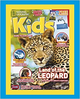 National Geographic Kids Subscription Gift Pack ( 12 issues ...